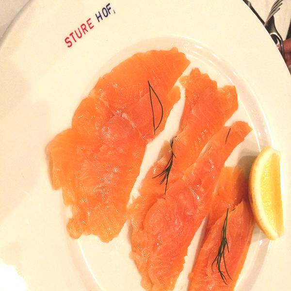 Sturehof Restaurant Lachs