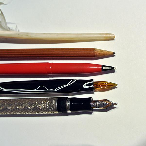 rixi Gronau Kalligrafie Schreibgeräte