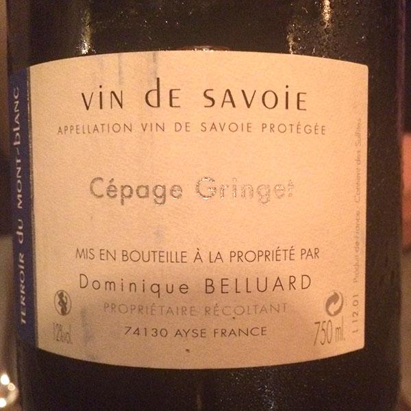 Vin de Savoie Wein