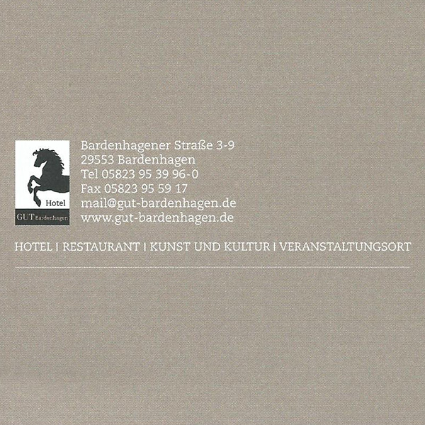 Hotel Gut Bardenhagen Adresse