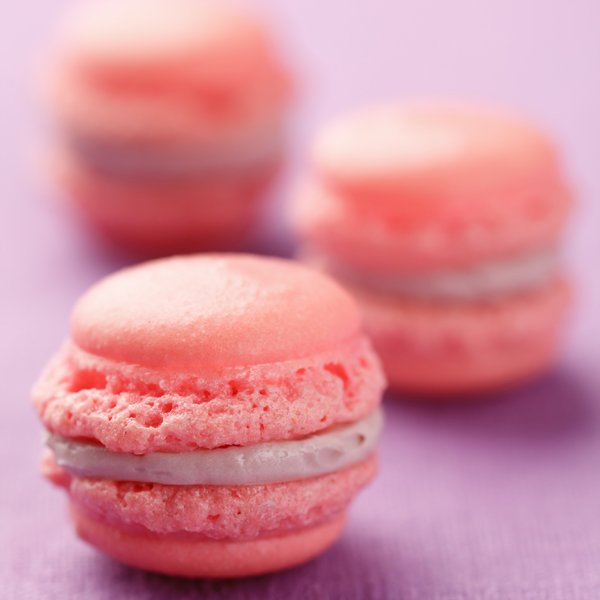 Macarin in pink