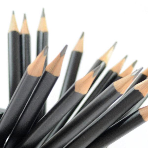 Schwarze Bleistift