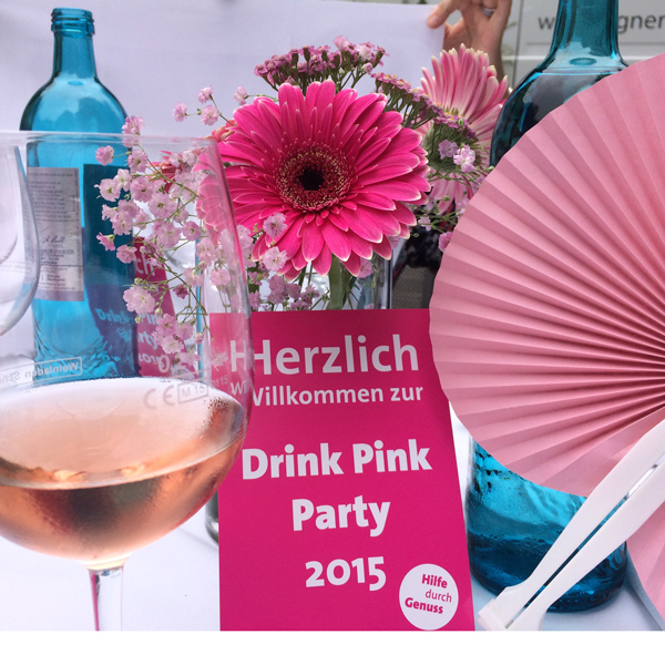 Einladung Pink Party Berlin 2015