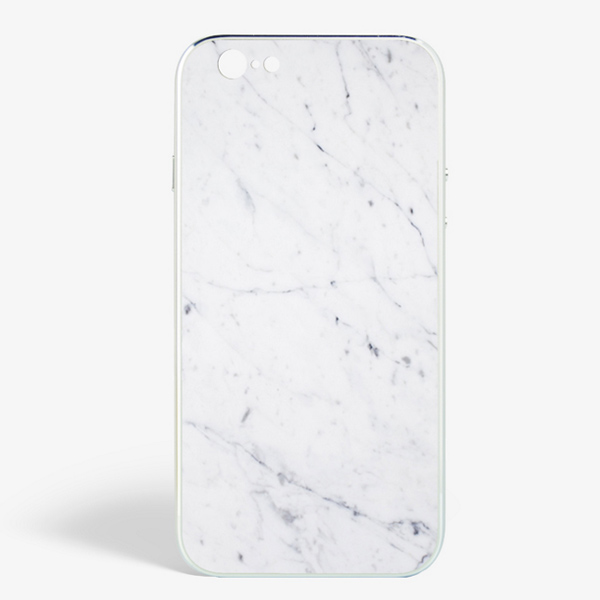 iPhone Hülle Marmor weiß