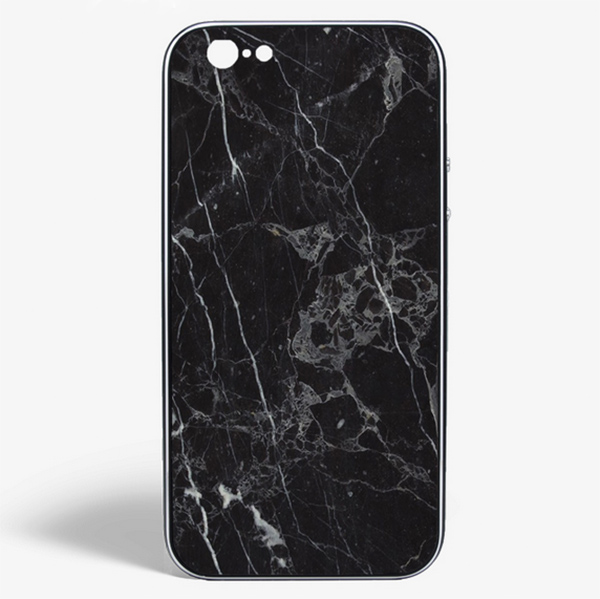 iPhone Marmor schwarz