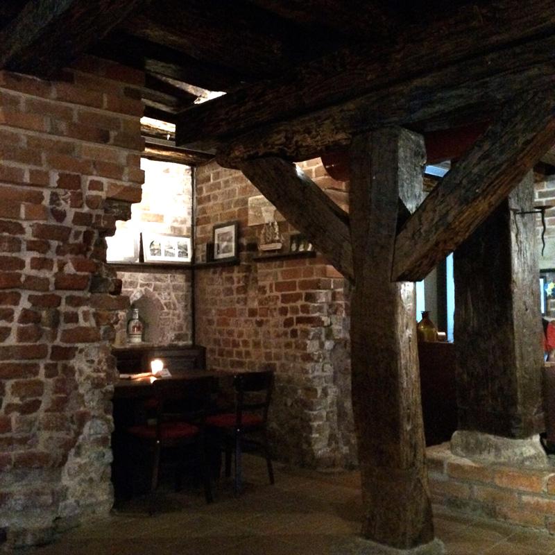 Restaurant im Scheelehof Stralsund im Kellergewölbe