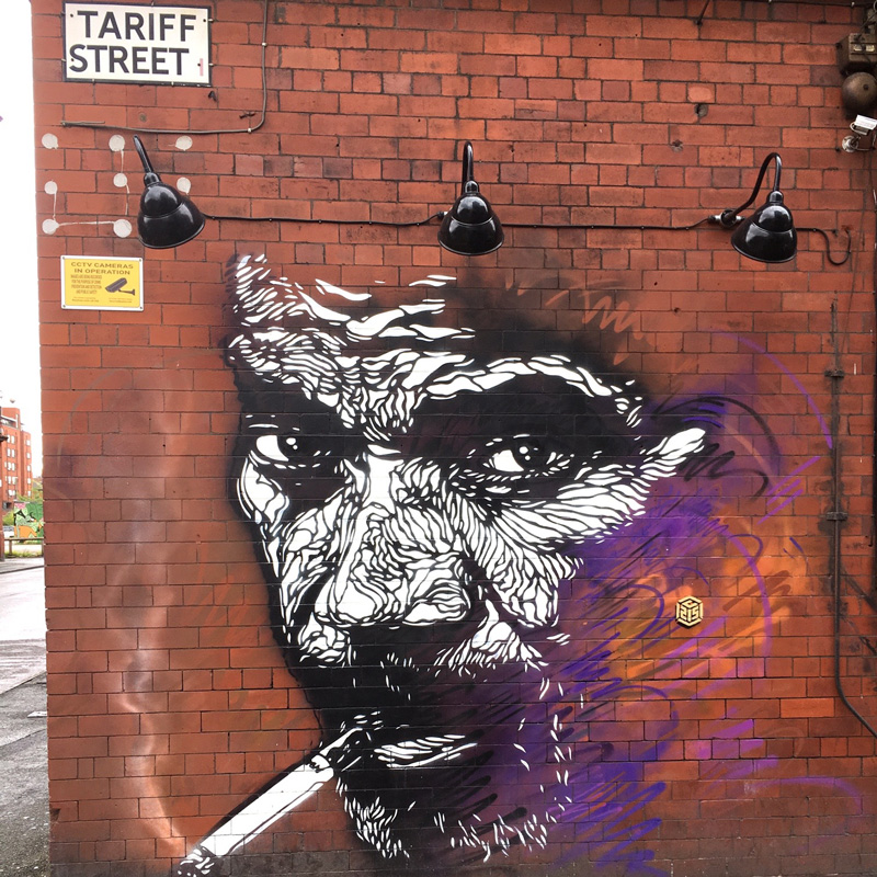 Manchester, northern-quarter-street-art-Tariff Street