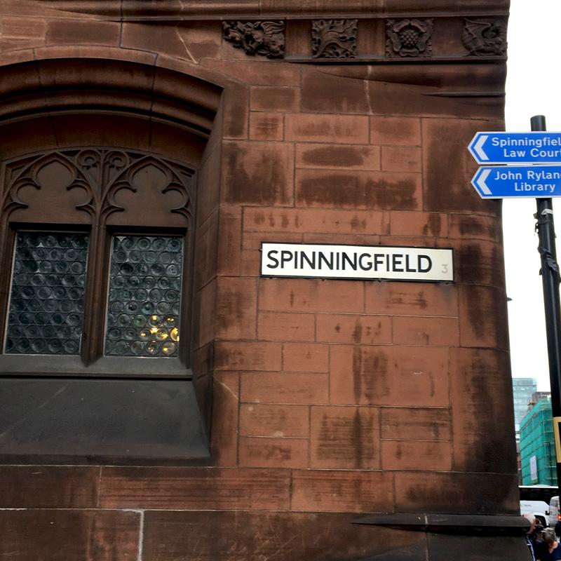 Spinningfield, das Trendviertel in Manchester