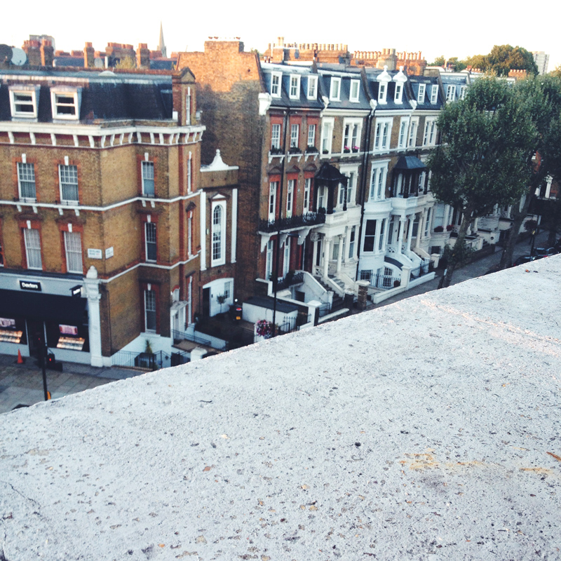 Roof Top of Notting Hill London