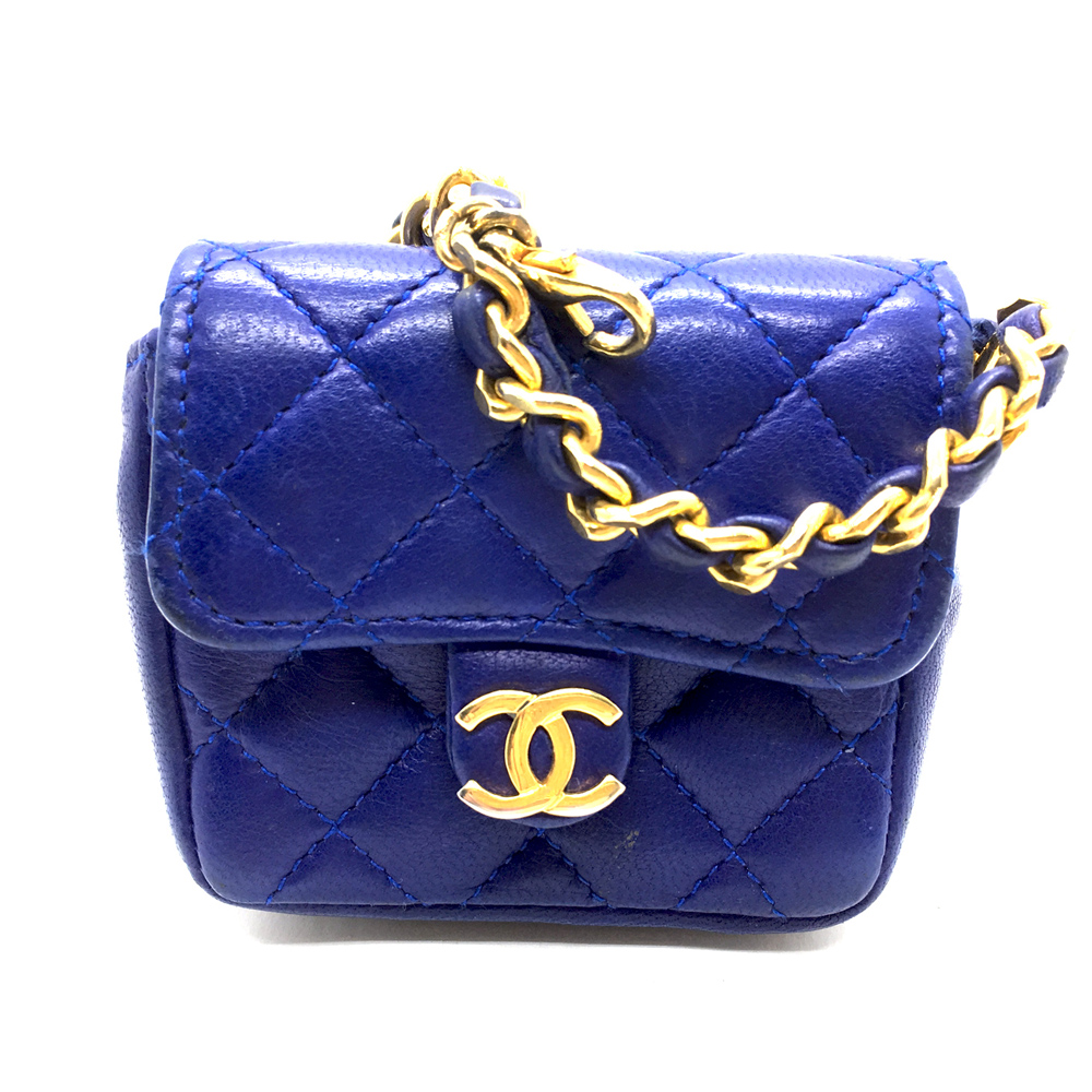 Chanel-Macro-Mini-2.55 Bag in purple