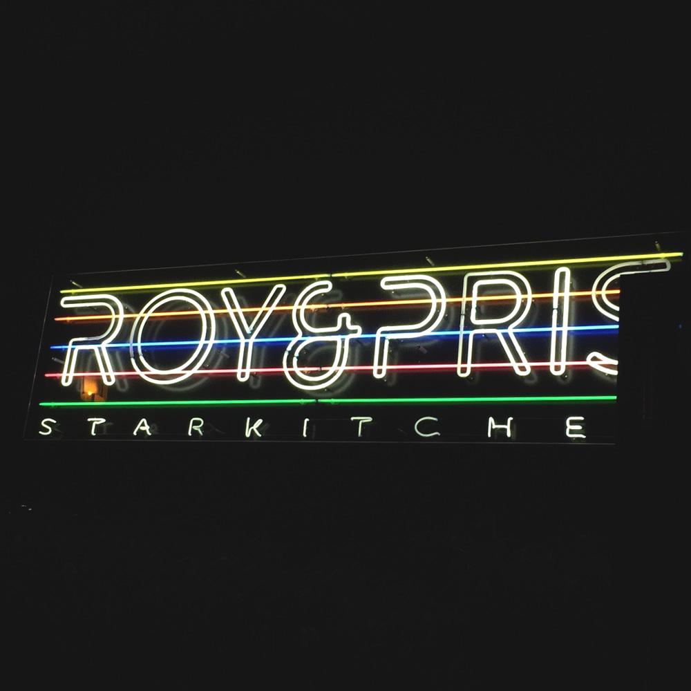 Roy & Pris Berlin, Leuchtreklame