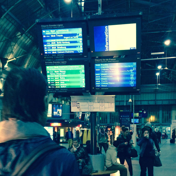 Bahnhof Gare_de_l'Est_Paris