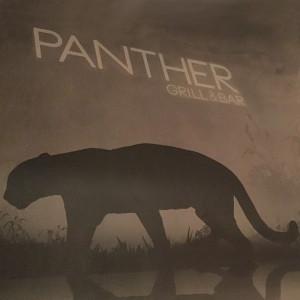 Wandbemalung Panther Grill Bar